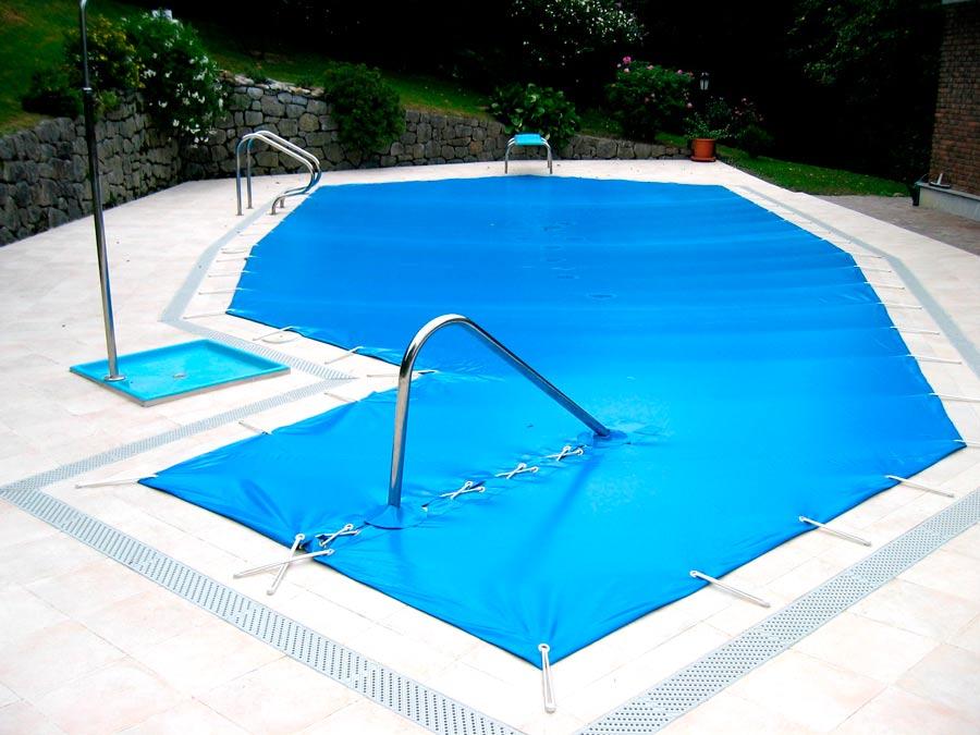 Cubierta de protección piscina exterior