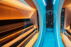 Argysan La Perla bancos sauna Thermowood