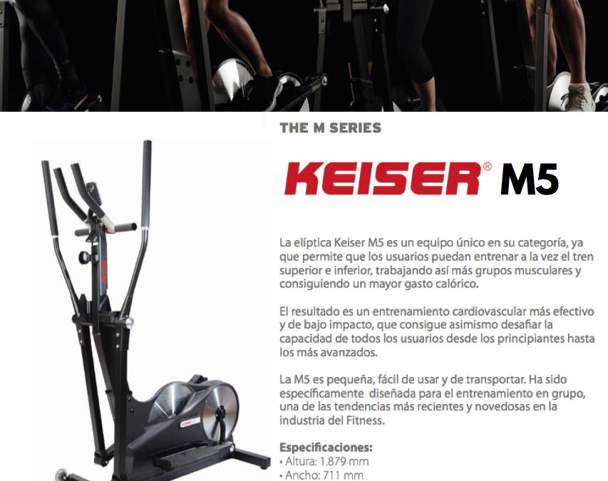 Portada Ficha Keiser M5