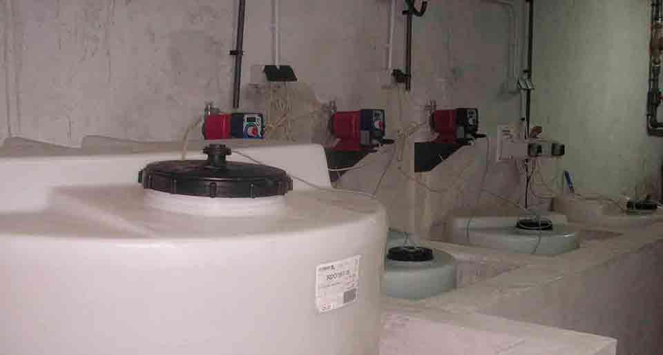 Depósitos de cloro