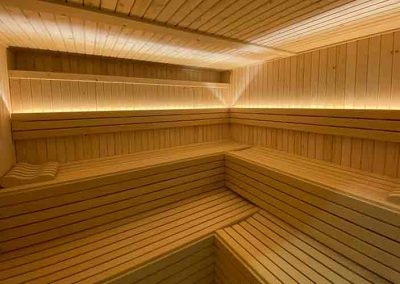 Sauna polideportivo Ispilla