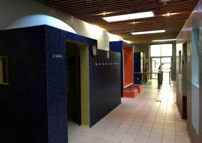 Instalaciones wellness polideportivo Oiartzun instalado por Argysan