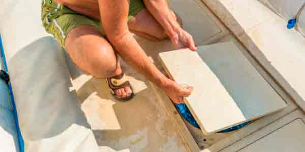 limpieza de piscina y sus elementos