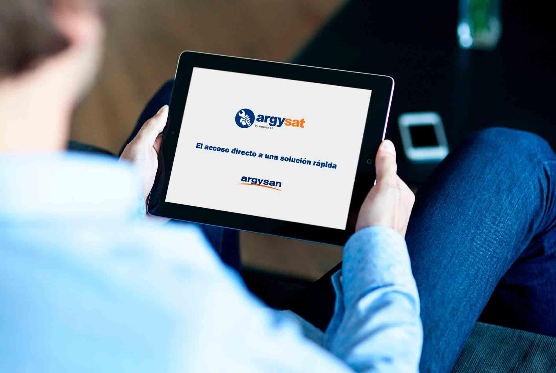 aplicación servicio técnico Argysan