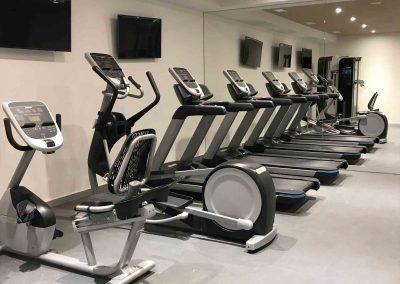 zona cardio gimnasio hotel Axel